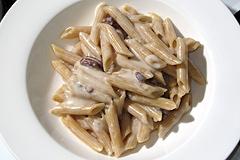 Pasta with Gorgonzola.