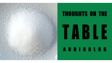 [Thoughts on the Table – 2] Sweet