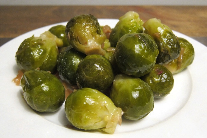 Stewed Brussels Sprouts