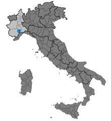 "The ""Langhe"" region, in Piedmont"