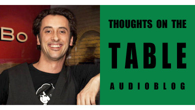 [Thoughts on the Table – 19] Meet Andrea Bini, an Italian Restaurateur in Canada