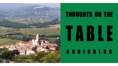 [Thoughts on the Table – 58] A Morning in San Giovanni in Galdo, with Nick Zingale