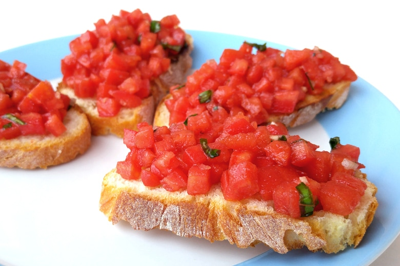 Bruschetta, Properly Pronounced :)