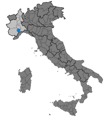 "The ""Langhe"" region, in Piedmont"