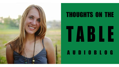 [Thoughts on the Table – 29] Introducing Diana Zahuranec, journalist and Italy enthusiast