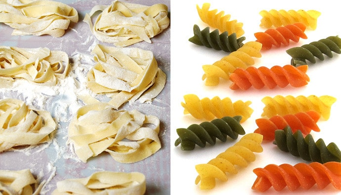 [Italy: Instructions for Use] Dried Pasta vs. Fresh Pasta