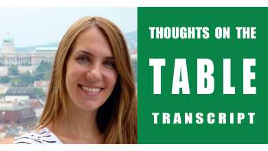 [Thoughts on the Table Transcript] The Italian Wine Culture, with Diana Zahuranec