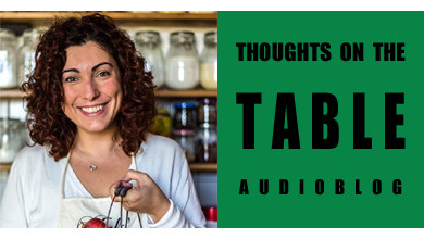 [Thoughts on the Table – 47] Introducing Food Writer and Cooking Instructor Giulia Scarpaleggia from Jul's Kitchen