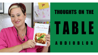 [Thoughts on the Table – 48] Introducing Ale Gambini and her Cookbook: A Queen in the Kitchen
