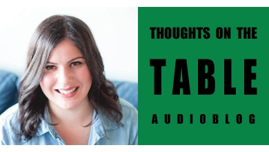 [Thoughts on the Table – 69] Introducing Food Blogger Pina Bresciani