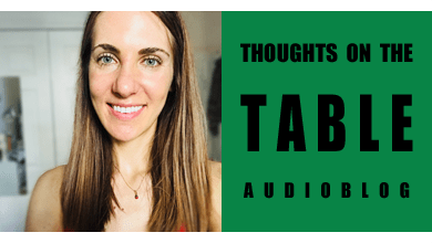 [Thoughts on the Table – 70] Define Culture Shock – Diana Zahuranec's Take on Relocating and Moving Back