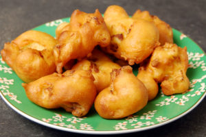 battered cauliflower