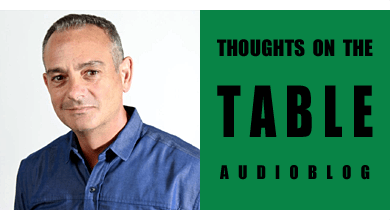 [Thoughts on the Table – 78] A Chat with Award-winning Author Andrew Cotto