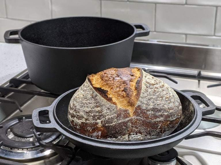 Baking in a double dutch oven