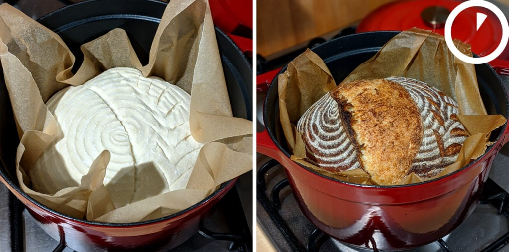 Sourdough baking