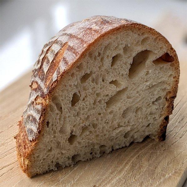 Sourdough slice