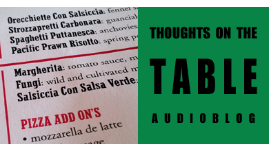 [Thoughts on the Table – 90] Italian Words Gone Wrong – Mistakes on the Menu